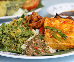 Chicken, chilli, and rice image