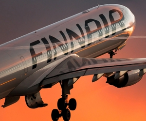 finland, finnair, and Hot image