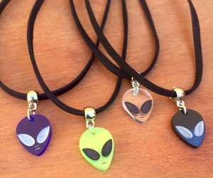 alien and necklace image