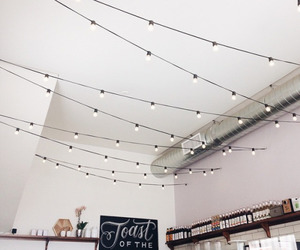 light, white, and decor image