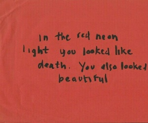 red, quotes, and beautiful image