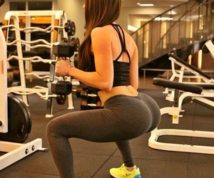 fitness, squats, and motivation image