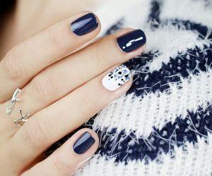nails, nails art, and unhas image