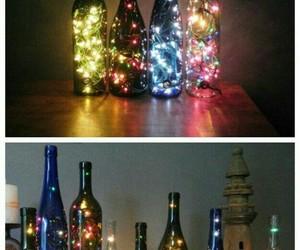 light, diy, and bottle image
