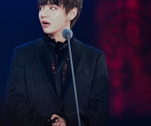 asia, kpop, and v image
