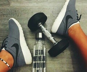 fitness, nike, and motivation image