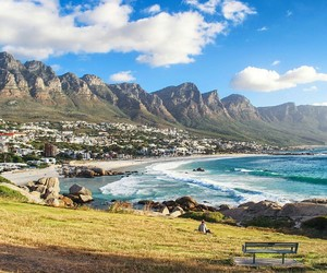 africa, beach, and cape town image