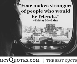 fear, people, and stranger image