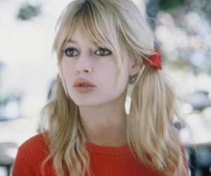 brigitte bardot and vintage image