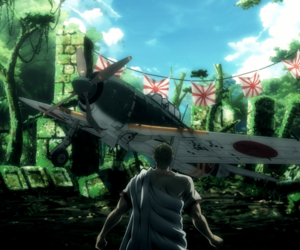 anime, gif, and drifters image