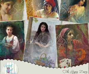 card making, journaling, and romany image