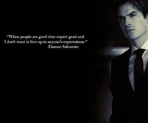damon salvatore, the vampire diaries, and damon image