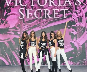 Victoria's Secret, taylor hill, and alessandra ambrosio image
