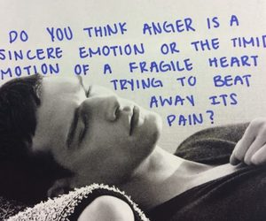 anger, emotions, and quotes image