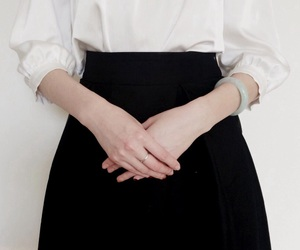 edwardian, shirt, and hands image