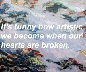 quotes, art, and broken image
