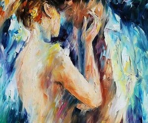 love, art, and painting image