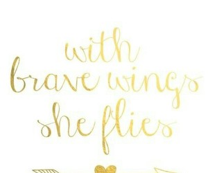 beauty, gold, and quote image