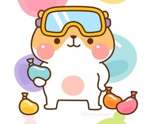 hamster, kawaii, and wallpaper image