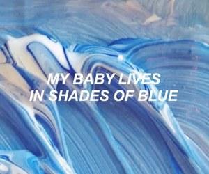 blue, tumblr, and lana del rey image