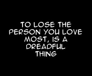 manga, quote, and sad image