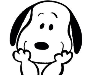 dog, snoopy, and beagle image