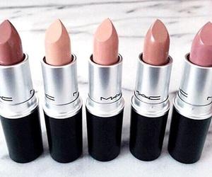 mac, make up, and Nude image