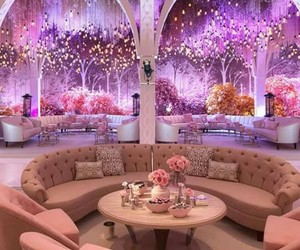 wedding, pink, and luxury image