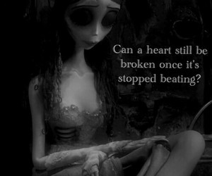 black and white, corpse bride, and quotes image
