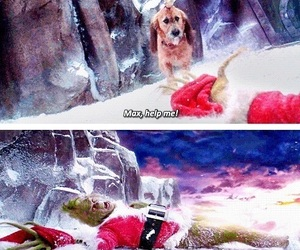the grinch, christmas, and funny image