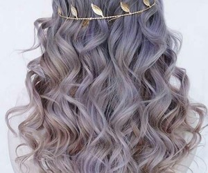 grey hair, moonlight, and headband image