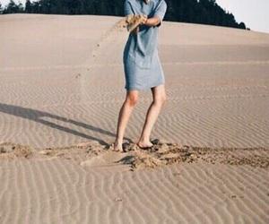 beach, tan, and blue image