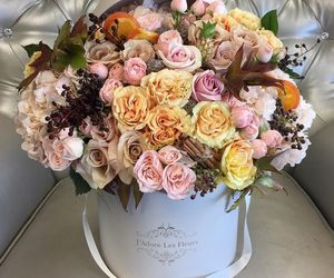 flowers, chic, and roses image