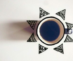 cafe, tumblr, and coffee image