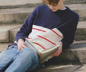 boy, books, and cute image