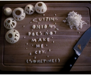 typography and onions image