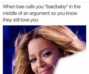beyoncé, funny, and bae image