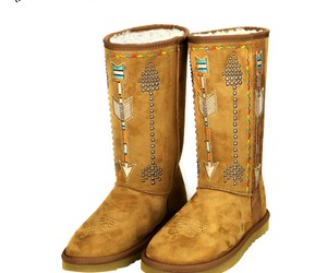 Cowgirl, fashion, and winter boots image