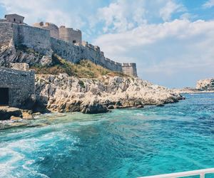 castle, south of france, and france image