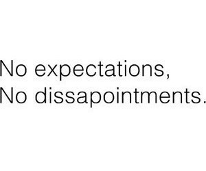 expectations, text, and quotes image