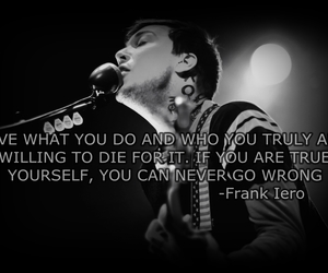 frank iero, quote, and yourself image