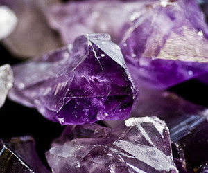 purple and crystals image