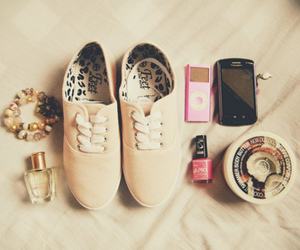 shoes, ipod, and phone image