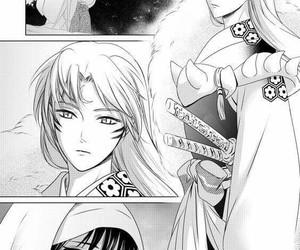 manga, inuyasha, and rin image