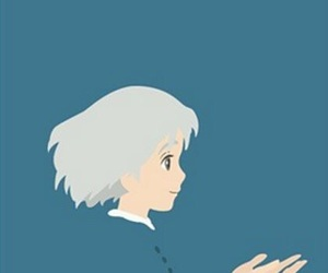 background, howl's moving castle, and wallpaper image