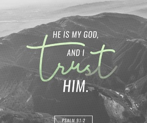 god, trust, and love image