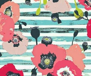 pattern, background, and floral image