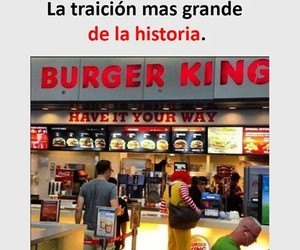 burger king, divertido, and funny image
