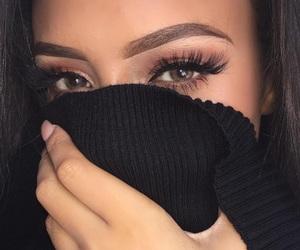 beauty, eyelashes, and nails image