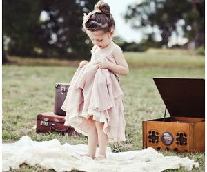dress, girl, and photography image